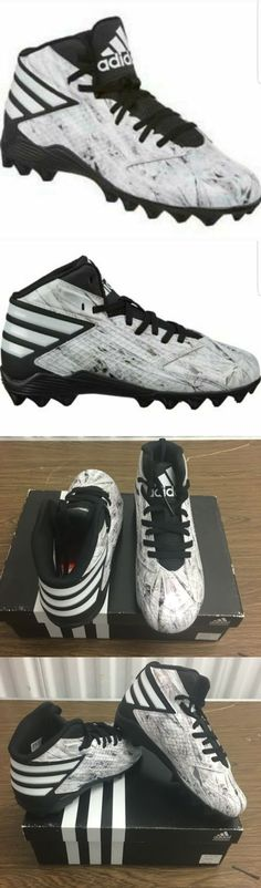 Youth 159118: Adidas Boys Youth Freak Md Football Soccer Athletic Sports Cleats Shoes Size 6 -> BUY IT NOW ONLY: $45.95 on eBay!