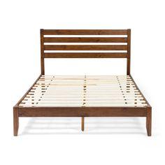 Dark Brown Furniture, Grey Furniture, Queen Size Headboard, Queen Size Bedding, Queen Platform Bed Frame, Black Queen Bed, Panel Headboard, Wood Beds, Wood Slats