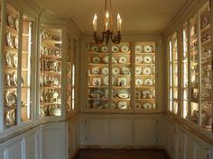The Sèvres porcelain room at the Musée Nissim de Camondo, Paris.
