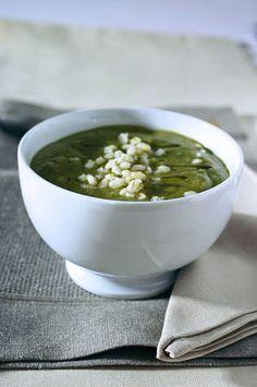 Zuppa fredda con orzo