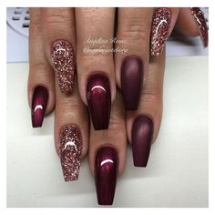 39 chic acrylic gel coffin nails design ideas acrylic nails nail beauty makeup Wondrous Winter Nail Design Ideas For 2020 – The Glossychic Design 63 Cute Nail Designs for Every Nail Length & Season: Cute Nails to Try 22 super easy nail art designs and … Easy Nails, Easy Nail Art, Simple Nails, Cute Nails, Pretty Nails, Easy Art, Fabulous Nails, Gorgeous Nails, Gel Nails