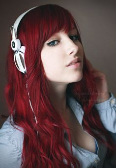 .love her red hair! Awesome !:)