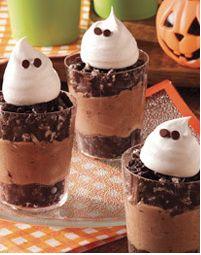 Boo Oreo Pudding Cups