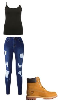 """""""Cute spring outfit"""" by fungiral on Polyvore featuring M&Co and Timberland"""
