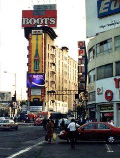 Df Mexico, México City, Old Pictures, Nostalgia, Vintage Photos, Times Square, Art Deco, History, Retro