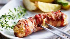 Szukasz przepisu na grillowane kiełbaski w boczku? Wypróbuj, jak smakują dania na grill z Kuchni Lidla!
