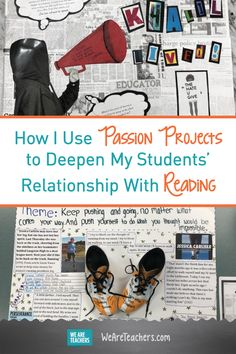 How I Use Passion Projects to Deepen My Students' Relationship With Reading. Last spring, I implemented passion projects for the first time as a culminating project for independent reading. kampagne Passion projects for reading Reading Projects, Book Projects, Reading Activities, Teaching Reading, Classroom Activities, School Projects, Activities For 6 Year Olds, Teaching Themes, Ela Classroom