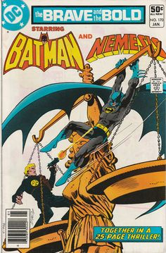 Brave & the Bold Vol. 27 No. 170  1981  Batman and Nemesis by TheSamAntics