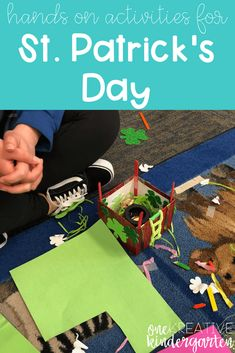 St. Patrick's Day is such a fun, low-key holiday to celebrate with your class! Check out these hands on activities for St. Patrick's Day. Freebie included! Weather Activities, Hands On Activities, Hands On Learning, Learning Activities, Science Resources, Teaching Resources, Kindergarten Blogs, Kindergarten Lesson Plans, Kindergarten Writing