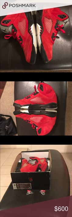 Raging Bulls 5s 2009 release DS!! No lowballers, you will be blocked. Jordan Shoes Sneakers