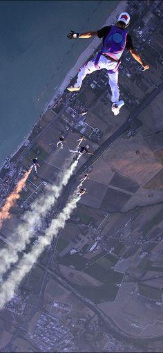 Skydiving  JAMSO http://www.jamsovaluesmarter.com