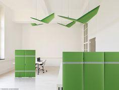 Декоративные акустические панели FLAP by Caimi Brevetti дизайн Alberto Meda, Francesco Meda