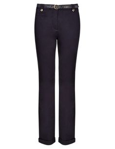 Cotton Rich Chinos with Belt Clothing
