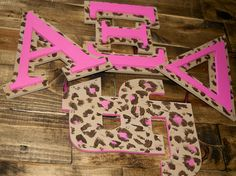 Wooden Greek Alpha Xi Delta and small TFJ  Letters. My BIG would love these!!!!