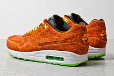 93d007c5b80 Nike presents a refreshing new orange leopard version of its iconic Nike  Air Max 1 sneaker for Summer