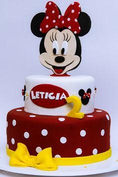 Bolo Minnie Minnie Cake