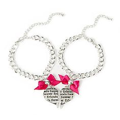 Friends Forever Bff Charm Bracelets