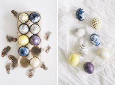 На праздник Пасхи принято красить яйца и печь куличи. Эта традиция, наполненная теплом и уютом домашнего праздника сопровождает нас с самого детства. В магазинах уже вовсю продают пищевые красители для яиц, но не спешите приступать к делу. Сегодня мы расскажем как оригинально раскрасить яйца, добавив в этот весенний праздник нотки стиля и творчества. Мраморные яйца …
