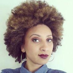 Débora // 4A Natural Hair Style Icon