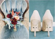 They key to a beautiful fall wedding? Go big on color, bring the outdoors in, and make it magical!