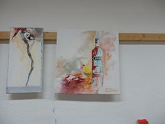 www.akademie-geras.at Watercolour, Painting, Still Life, Watercolor, Watercolor Painting, Painting Art, Paintings, Paint, Draw