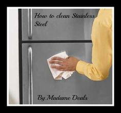 How to Clean Stainless Steel #cleaning #tips