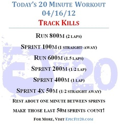 Today's 20-Minute Workout 4/16/12