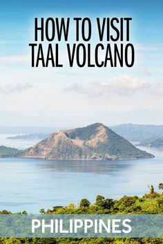 Taal Volcano Tagaytay is one of the most dangerous volcanoes on earth. You can hike to the top of Taal Volcano on your own - or you can go with a tour from Manila. Travel Advice, Travel Guides, Travel Tips, Travel Articles, Manila, Cool Places To Visit, Places To Travel, Travel Destinations, Philippines Travel Guide