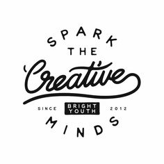 I'm all about 'sparking creative minds' esp when it's for @brightyouth  by ryanlbowles