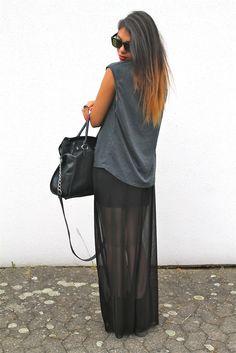 Black & Grey & Maxi