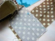 Trim back the binding tails so that they overlap by the width of the original binding strip plus 1/4 inch!  BRILLIANT!!!