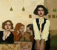 Милт Кобаяши, современный художник ~ Блог художественного поклонника