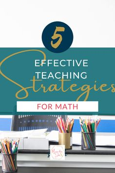 """Have you asked yourself what are the strategies for teaching mathematics? How can I make this more accessible for my students? Let's explore these 5 proven strategies to take """"Math Class is Tough"""" and turn that into an exciting challenge! Teacher Tools, Math Teacher, Teaching Math, Teacher Resources, Problem Based Learning, Project Based Learning, High School Classroom, Math Classroom, Teaching Strategies"""