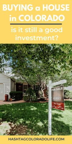 Is buying a home in Colorado a good investment? Check out this guide from both a Colorado native and newcomer's perspectives. There are pros and cons to consider to see if buying a house in Colorado is still a good investment. Colorado City, Moving To Colorado, Visit Colorado, Living In Colorado, Colorado Homes, Colorado Mountains, Moving Cross Country, Front Range, Laundry Hacks