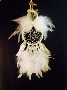 Christmas Angel Dream Catcher