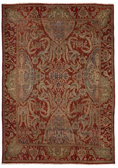 Sultanabad carpet  Central Persia  circa 1900  size approximately 11ft. 8in. x 15ft. 4in.