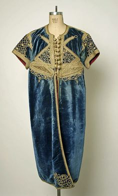 19th Century Moroccan Silk Robe/Dress