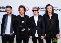 The guys of One Direction - Harry Styles, Niall Horan, Liam Payne, and Louis Tomlinson – hit up the 2015 Billboard Music Awards