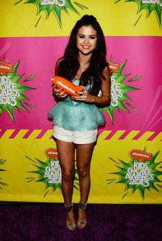 Selena Gomez walks red carpet at 2013 Kids Choice Awards Kids Choice Awards 2014, Selena Gomez Images, Selena Gomez Dress, Nicole Snooki, Marie Gomez, Female Singers, Celebs, Celebrities, Dress And Heels