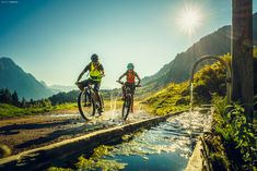 Österreich Werbung Bike Leogang 2018-09-18 - Father and son... Österreich Werbung Bike Leogang 2018-09-18 Mountains, Sport, Nature, Travel, Advertising, Deporte, Naturaleza, Viajes, Sports