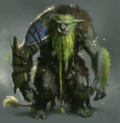 Forest Troll by Magnus Norén on ArtStation