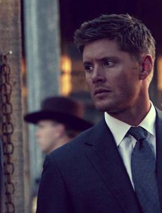 This man cleans up like none other. #Supernatural #Jensen #Damnit