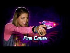 (Gender) In class we talked about how the toys that kids play with when they are younger sculpt them. This commercial goes against gender roles. Most of the toys that Nerf makes are aimed toward boys, this is the first Nerf commercial that I have ever seen aimed toward girls. Also you do not usually see gun and bow and arrow toys made for girls.