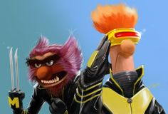 x-men muppets-do I have to go over the fact that I have an unhealthy muppet obsession again?
