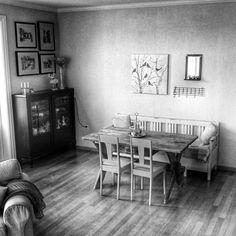 New, old home. My livingroom.