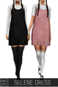 Sims 4 CC's - The Best: SELENE DRESS by Simpliciaty