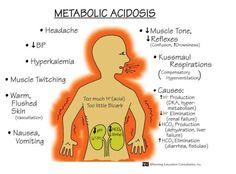 memory notebook of nursing: metabolic acidosis