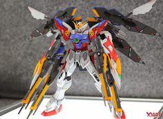 MG 1/100 Wing Gundam Proto Zero EW - Customized Build Modeled by Jon-K