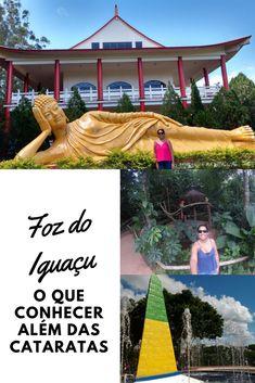 Foz do Iguaçu tem diversas atrações além das Cataratas do Iguaçu, como Parque das Aves e Templo Budista. Veja o roteiro