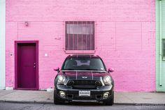 Dream Mini Cooper | MINI in Denver | Custom MINI cooper | Pink Mini cooper | Mini cooper countryman | car photography | dream car | mini | Denver | the mile high city | Schomp MINI | an original @Schomp MINI pin